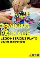 LEGO SERIOUS PLAY SENSE Training House Team Building Strategic Planning Design Thinking Change Management