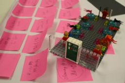 LEGO SERIOUS PLAY SENSE Training House Team Building Strategic Planning Design Thinking Change Management Innovation