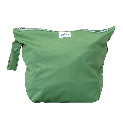 Zippered Wet Bag - Basil
