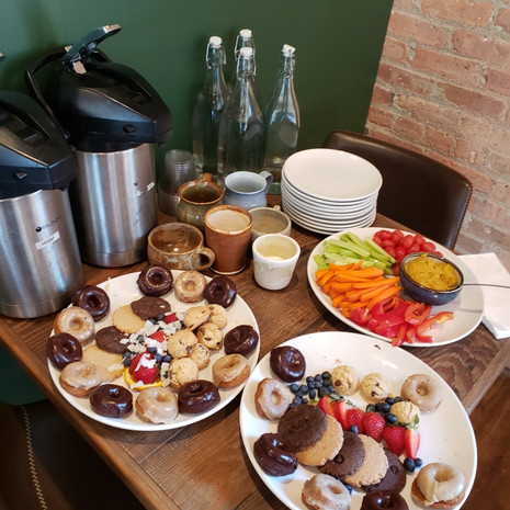The perfect meeting place, catering available!