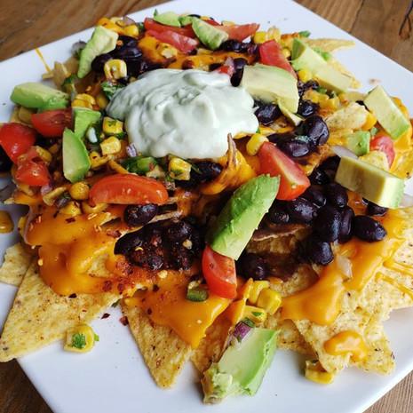 Vegan nachos!