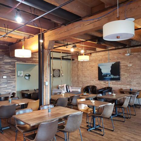 Kava's cozy dining area!
