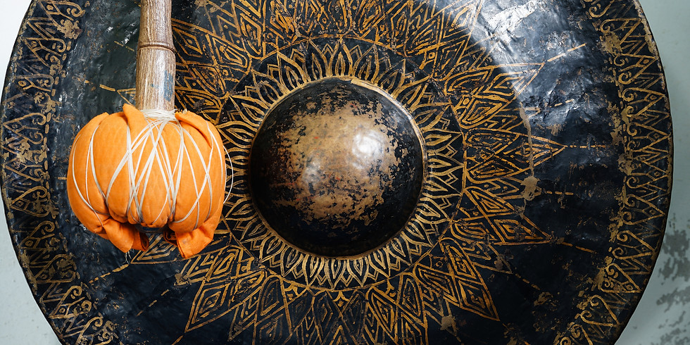 Gong Journey: Sound & Salt Healing w/ Andre