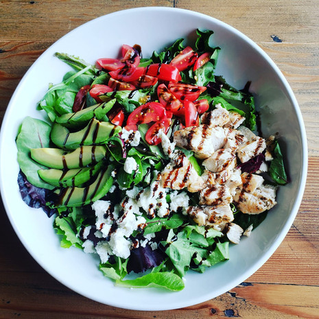 Kava Caprese Chicken Salad