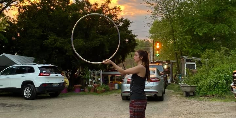 Find Your Flow: Social Distant Hooping for Beginners w/ Shawna