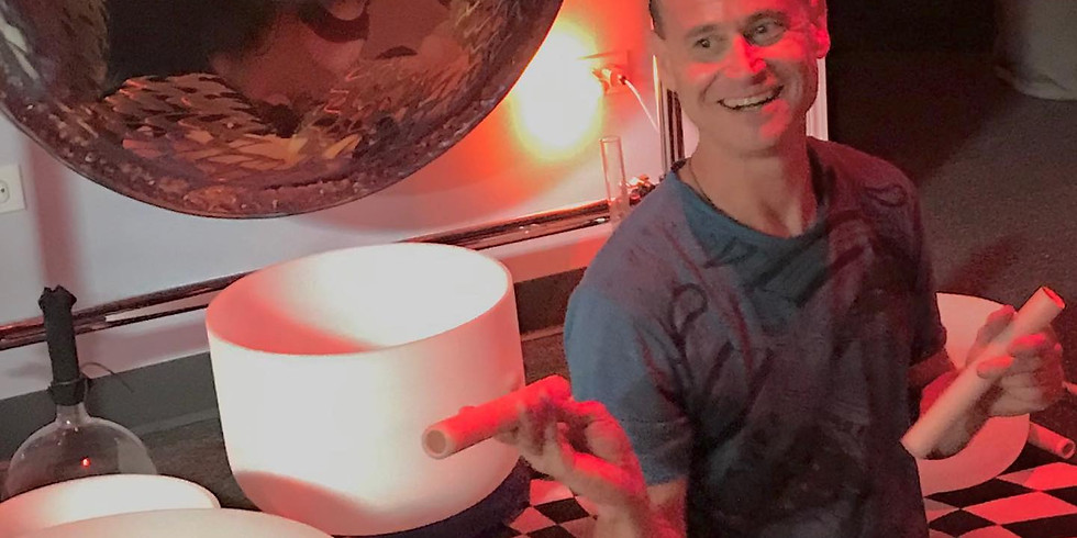 Sound Healing: Crystal Bowl Salt Healing w/ Mike