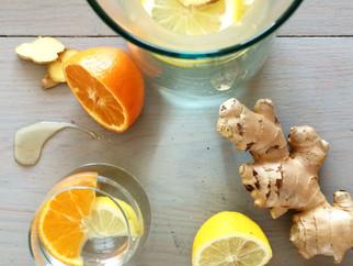 Healthy homemade iceteas