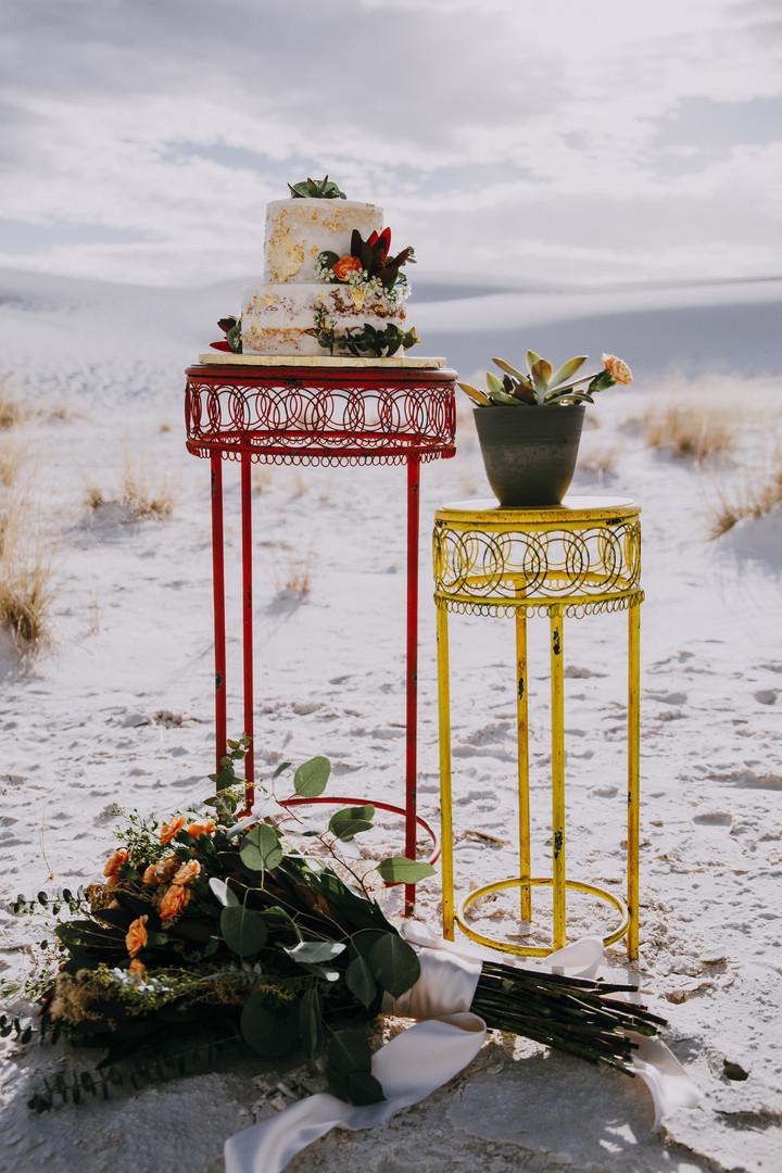 White Sands Wedding