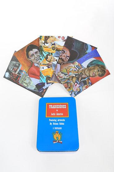 Latin American Traditions, Postcard set of 5