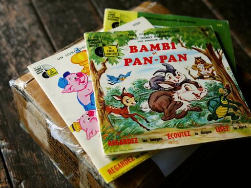 60s 70s Disney 絵本&レコード