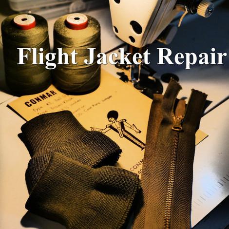 Flight Jacket Repair ブログ記事へ