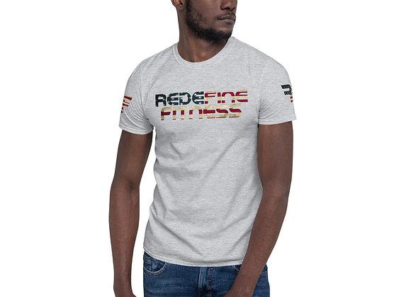 American Flag Short-Sleeve Unisex T-Shirt
