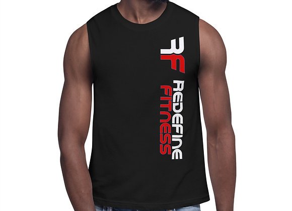 Redefine Red Muscle Shirt