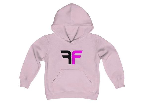 Redefine Pink Youth Heavy Blend Hooded Sweatshirt