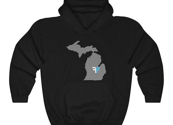 RF Michigan Unisex Heavy Blend™ Hooded Sweatshirt