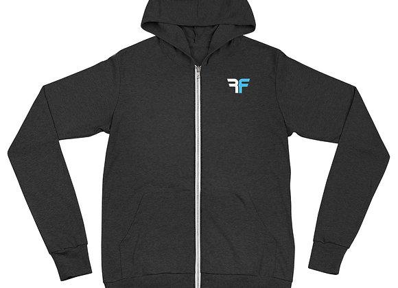 RF Athlete Unisex zip hoodie