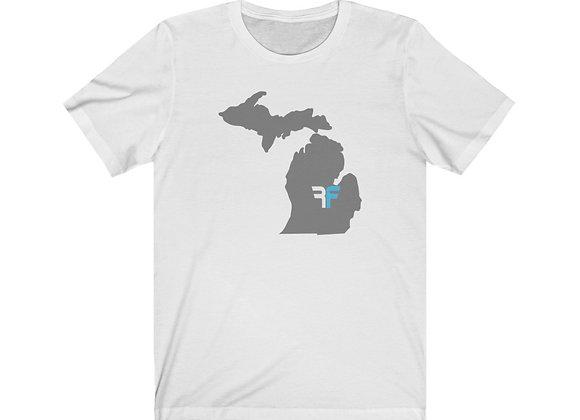 RF Michigan Unisex Jersey Short Sleeve Tee