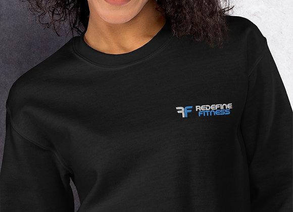 Redefine embroidered Unisex Sweatshirt
