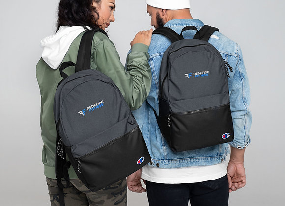 Redefine Embroidered Champion Backpack