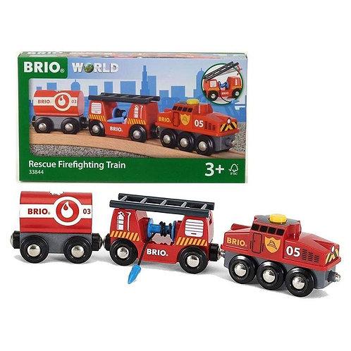 BRIO Track - Rescue Fire Fighting Train