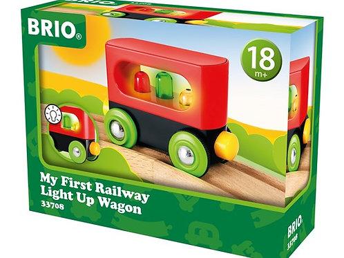 BRIO My First - My First Light Up Wagon