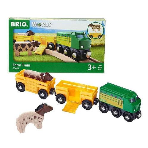 BRIO Tracks - Farm Train