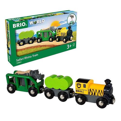 BRIO Track - Safari Rhino Train