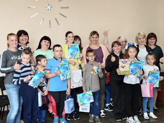 """Фестиваль творчества для детей-инвалидов """"Искорки надежды""""..."""