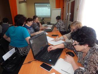 Февральские «Компьютерные учения» в Шербакульском КЦСОН
