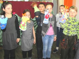 Социальный проект «Создание и организация деятельности семейного интегративного театра куклы»