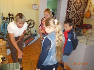Шербакульский историко-краеведческий музей открыл двери для «особенных детей»