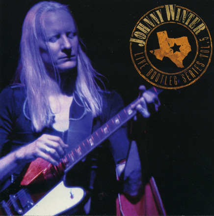 Johnny Winter CD Cover