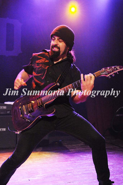 Rob Caggiano, Anthrax, 2011