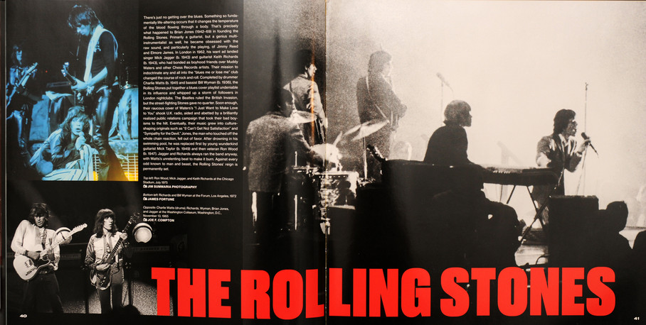 Rolling Stones, Smithsonian Book