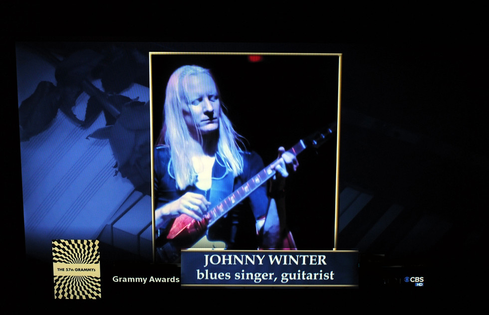 Grammy Awards, Johnny Winter