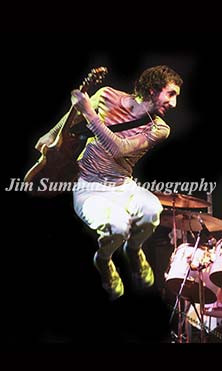 Pete Townshend, The Who, 1975