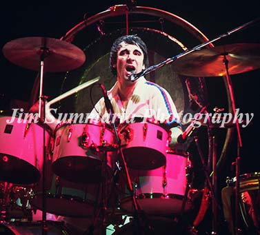 Keith Moon, The Who, 1975