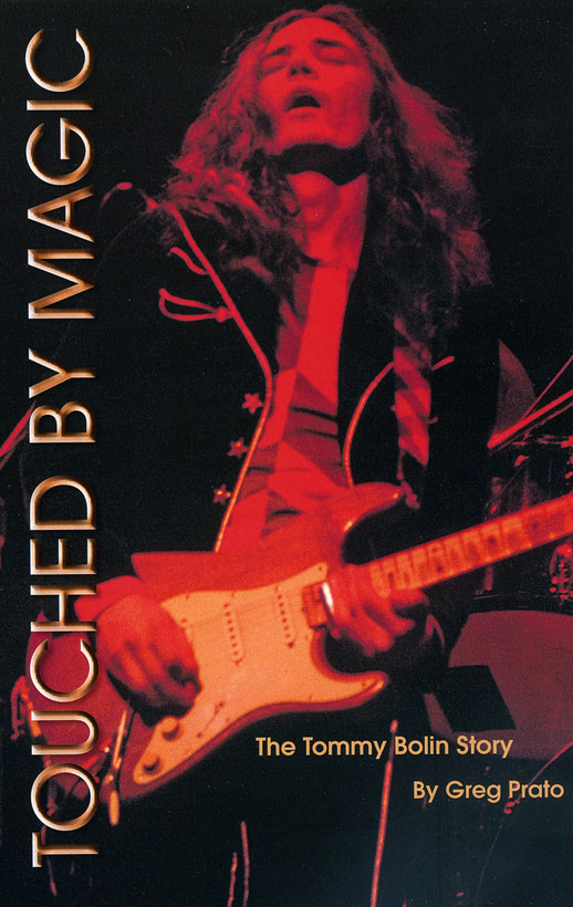 Tommy Bolin Book Cover