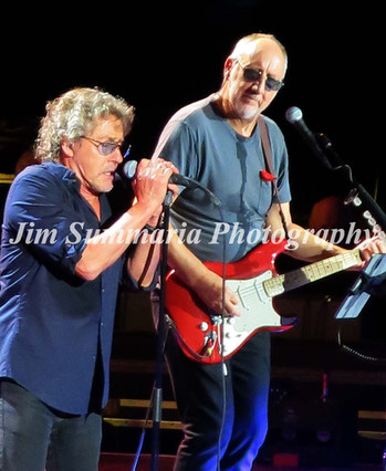 Roger Daltrey and Pete Townshend, The Who, 2015