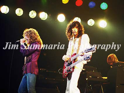 Robert Plant & Jimmy Page, Led Zeppelin, 1977