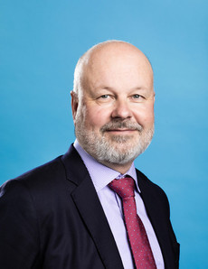 Jussi Laasonen Suomen Vakuutuslakimiesten Yhdistys ry:n puheenjohtajana jo vuodesta 2014 lähtien.