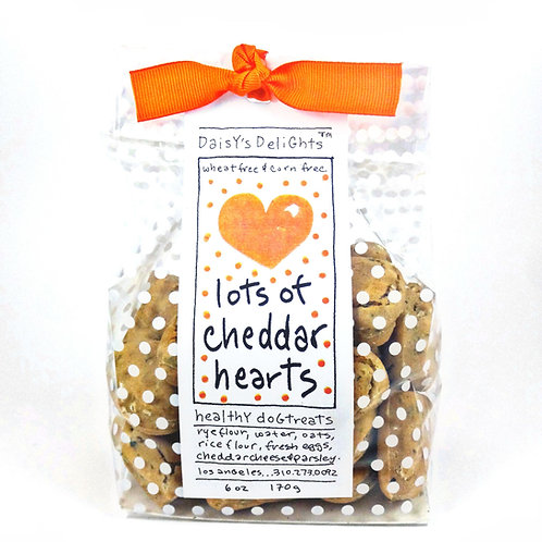Lots of Cheddar Hearts