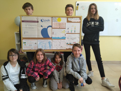 Godziny wychowawcze ze światem - udział w projekcie PAH