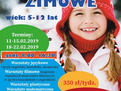 Zimowe Półkolonie - ZAPRASZAMY w ferie!
