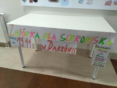 Zbiórka dla Schroniska w Dąbrówce