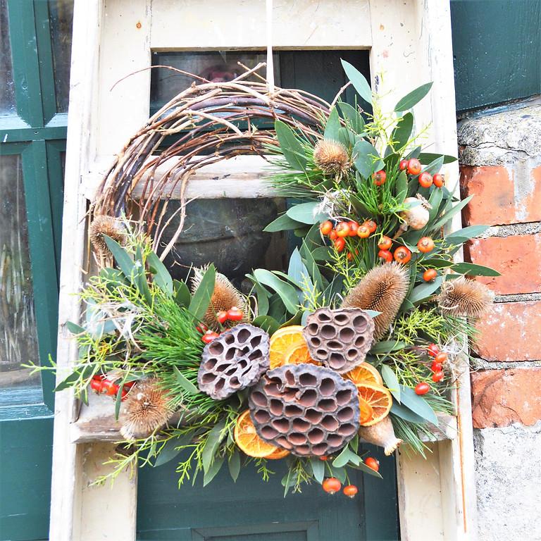 Christmas Willow Wreath
