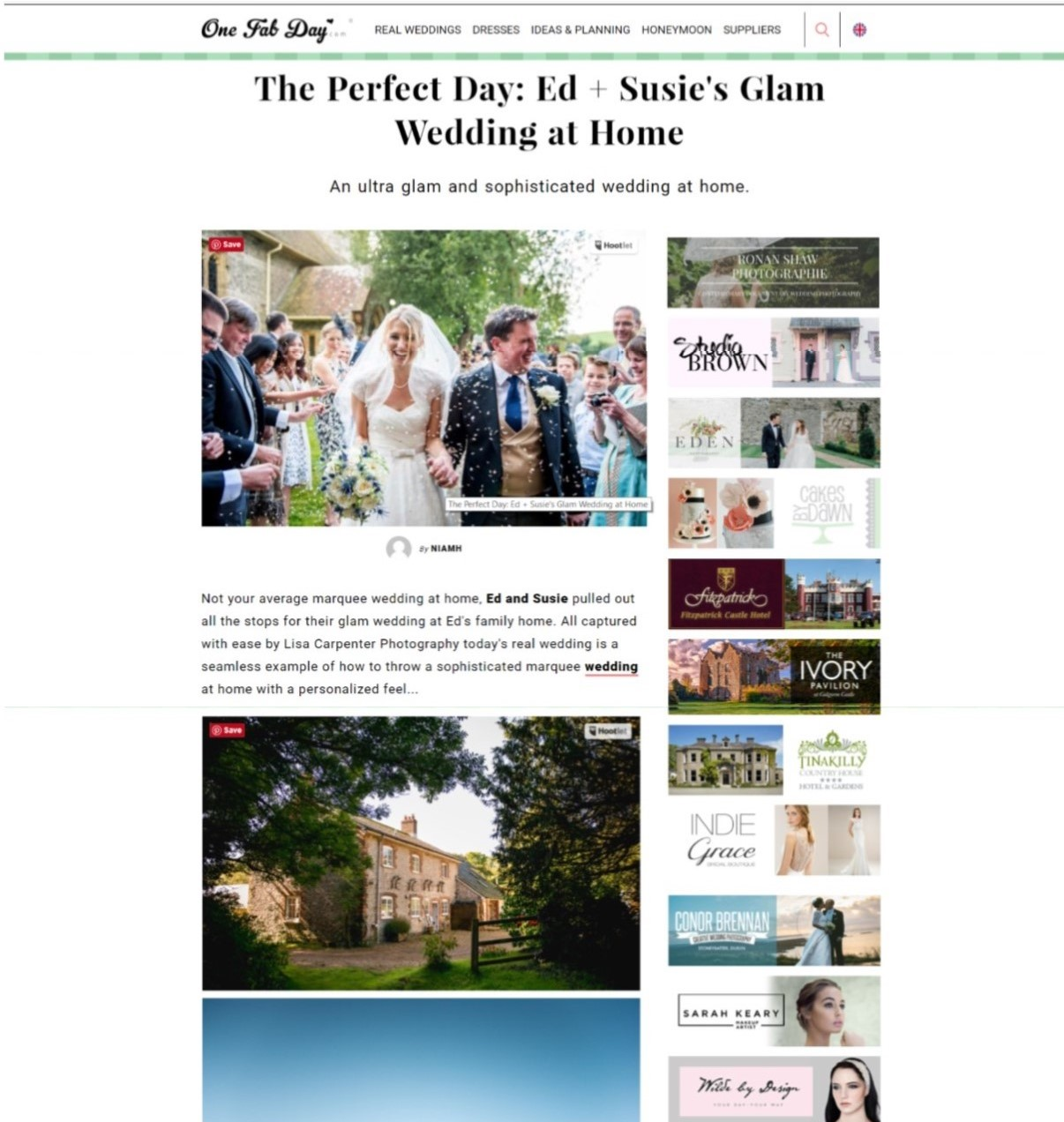One Fab Day Wedding Blog Nov 2015