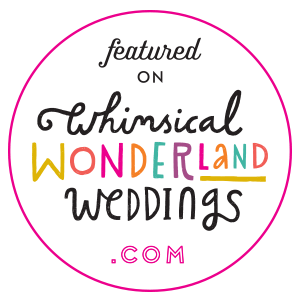 Whimsical Wonderland Wedding Blog