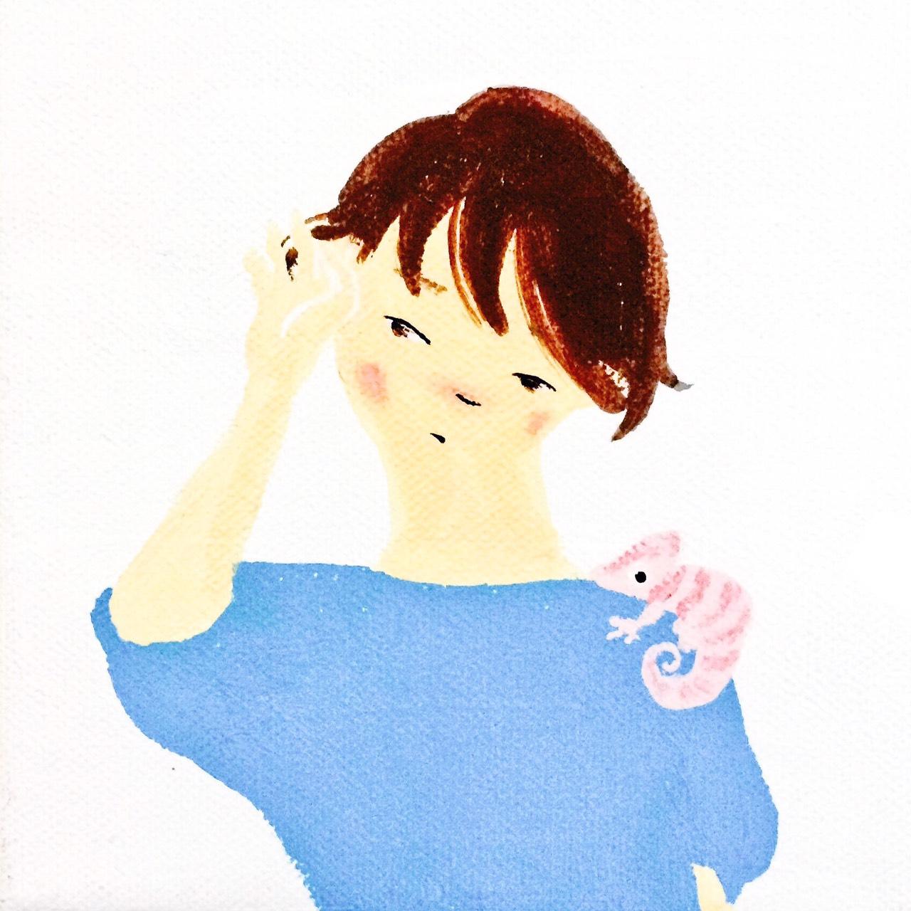 恋するピンクのカメレオン