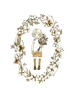 cottonflowerリース男の子